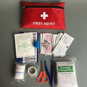 First Aid Kit Bag Outdoor Emergency Medical Survival Home Car
