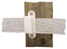 Dare, 2330-25W, White, Wood Post Tape Insulator