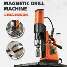 Electric Magnetic Drill Press Portable Md 35md 60md 120