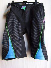 O'NEAL AZONIC men's cycling shorts VENOM sz 30 1072-130 black/neon