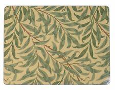 Morris & Co Salice Rami Verde Set Di 4 Sughero Retro Grande Tovagliette