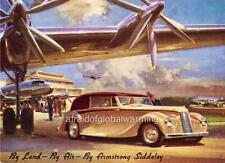 Old Print.  1946 Armstrong-Siddeley Hurricane - Automobile