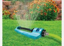 NEW! Aqua Joe Indestructible Metal Base Oscillating Sprinkler - Adjustable