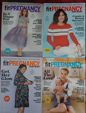 Fit Pregnancy Magazines!  English, March, April, May & June 2017
