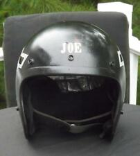 Vintage Bell RT Black Chevy 409 Racing Motorcycle Helmet 1976 Size XXL 7 3/4