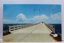 Florida FL Key West Overseas Highway Postcard Old Vintage Card View Standard PC