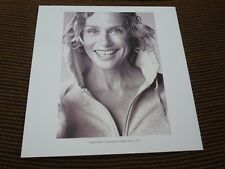 Single Page 2 Sided Lauren Hutton Jean Paul Gautier Coffee Table Book Photo