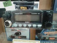 PRESIDENT HARRY III ASC Emisora CB 27 Mhz. AM / FM 40 CANALES  12/24 V