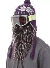 Beardski Maschera Da Sci Haze. BARBA FINTA GRIGIO Maschera Sci Snowboard Stag Do Festa