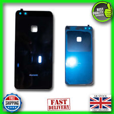 Rear Glass Back Battery Cover With Adhesive BLACK for HUAWEI P10 Lite
