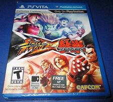 Street Fighter X Tekken Sony PlayStation Vita *Factory Sealed! *Free Shipping!