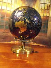 WORLD GLOBE ON METAL STAND REVOLVING ROTATING WORLD GLOBE DECORATION 28 CM GIFT