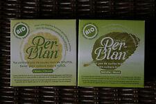 Poudre dentaire PerBlan aux extraits végétaux bio, Menthe ou Citron, dentifrice