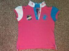 Santa Monica girls polo shirt for age 5-6 GUC