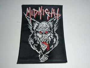 MIDNIGHT DEMON EMBROIDERED PATCH