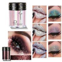 36 Farben Lidschatten Palette Pigment Wasserfest Schimmer Glitzer Pulver Makeup