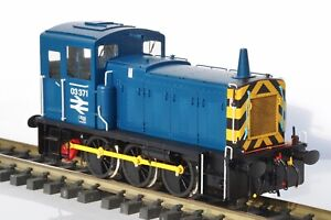 Gauge 1 Brassworks Sancheng Class 03 Diesel Locomotive 03371 in BR Blue Livery