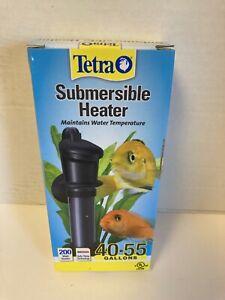 Tetra Submersible Heater 200 watt for 40-55 Gallons Aquariums