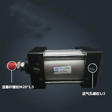 SC100-800 Bore: 100mm Stroke: 800mm Single Thread Rod Dual Action Air Cylinder