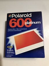 Vintage 2 Pack POLAROID 600 FILM Platinum, new Never Opened instant camera film