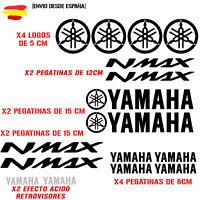 PEGATINA VINILO ADHESIVO YAMAHA MOTO NMAX VINIL STICKER DECAL KIT DE 16 unds