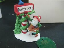"""Dept. 56 """"Trimming The North Pole"""" #5608-1 Heritage Village Christmas New"""