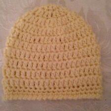 Hand Crocheted NEWBORN Baby Infant BEANIE CAP HAT Boys Girls MADE IN THE USA
