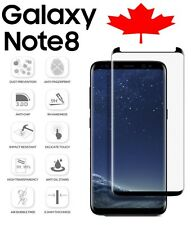Samsung Galaxy Note 8 Case Friendly Premium 3D Tempered Glass Screen Protector