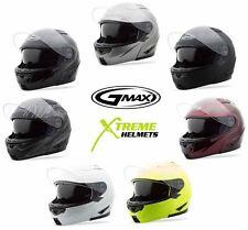 Gmax GM64 Flip Up Modular Helmet XS S M L XL 2XL 3XL