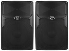 "(2) Peavey PVx15 15"" 1600-Watt Light-Weight PA Speakers, Full-Range PVX-15"