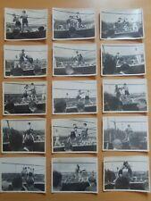Lot de photos match de Boxe 1942 Championnat de France poids plumes -Collection