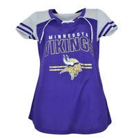 NFL Minnesota Vikings Pride Tshirt Tee Womens Ladies Purple V Neck Short Sleeve