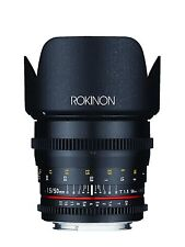 Rokinon Cine DS 50mm T1.5 Full Frame Prime Cine Lens for Canon EF- Model DS50M-C