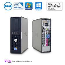SUPER SCHNELL GÜNSTIG DELL OPTIPLEX 780 SFF PC mit Anti Virus & BÜRO