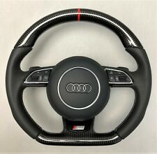 Audi S RS High Performance Carbon Lenkrad custom steering wheel volant volante