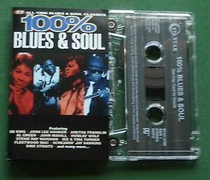 100% Blues & Soul Howlin' Wolf Stevie Ray Vaughan JJ Cale + Cassette Tape TESTED