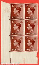 """Sg. 459. P3. 1½d Red-brown. A superb Unmounted Mint """" Control A36 cylin B42474"""
