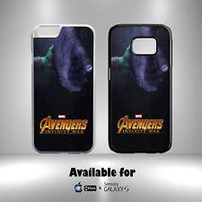 Thanos Gamora Marvel Los Vengadores Infinito guerra duro caso cubierta teléfono N32i