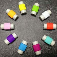 10x Protezioni Cavo USB Caricabatteria Per Apple iPhone iPad - Multicolore