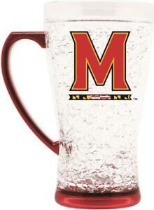 NCAA Maryland Terrapins 16oz Crystal Freezer Pilsner