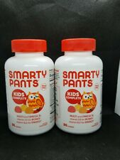Lot of (2)Smarty Pants Kids Complete Gummy Multivitamin & Omega 3 90ct Exp 5/20+