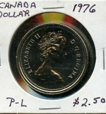 1976 Canadian Cased Silver Dollar Limited Edition Case!