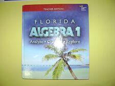 Florida Teacher's Edition Algebra 1:  Analyze, Connect, & Explore  @2015