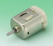 5 x RE130 Low Torque Miniature Motor for Model / Educational Use With Clips