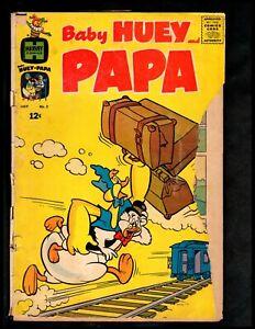 BABY HUEY AND PAPA #2 POOR  1962 HARVEY  (FREE SHIPPING ON $15 ORDER!