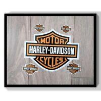 Harley Davidson Stickers Set Motor Cycles Car Helmet Decal Vinyl Sticker