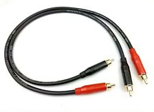 KLOTZ AC106 Audiophile Interconnect Cables Amphenol RCA 2xRCA