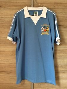 Manchester City 1976 League Cup Winners Shirt Size Large