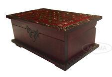 Celtic Chest Puzzle Box Polish Handmade Wood Celtic Keepsake Secret Opening