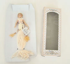 Sweet Petite Collection Tassel Doll Little Girl With Short Blonde Hair